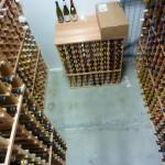 Walk-in locker--1200 bottles