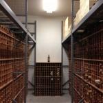 Walk-in locker--4000 bottles