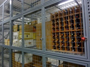 Btl rack & Case Storage Locker
