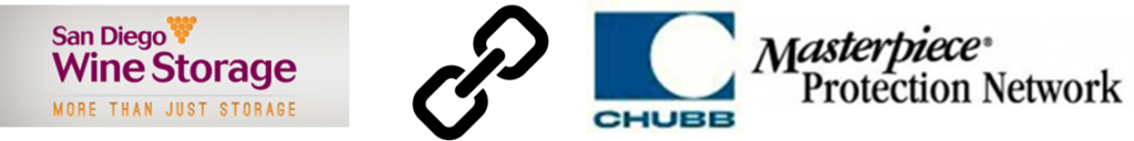 SDWS link Chubb 1024x128 Chubb Insurance appoints San Diego Wine Storage to Masterpiece Protection Network