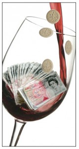 wine money Icon  one word or two?