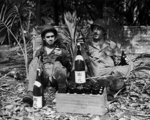 doughboys with wine 300x241 Wine & Warfare  A Series Not To Be Missed