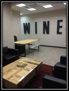 San Diego customer lounge