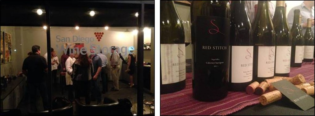 SDWS exterior & Red Stitch wines