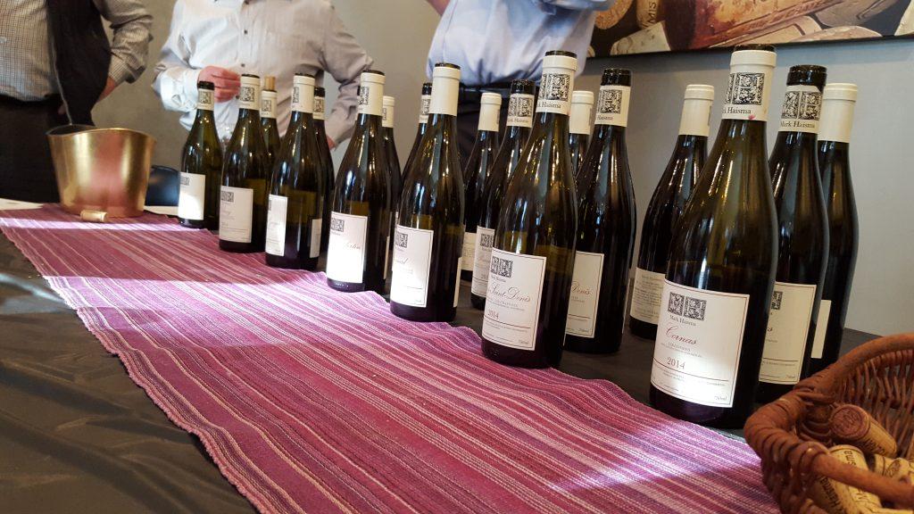 Haisma wine lineup